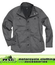 Giacche grigi per motociclista tessuto , Taglia XL