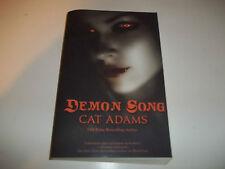 Demon Song by Cat Adams SC new