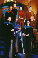 "Star Trek: Deep Space Nine.  Cast shot.  5"" x 3"" colour photo"