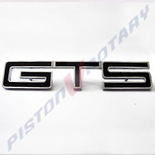 GTS Guards or Boot BADGE BLACK , NEW , for HOLDEN HK HT HG MONARO fender hood