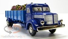 SCHUCO 05672 Piccolo Krupp LKW Pritsche 746 blau Christmas Special 2003 - OVP