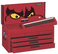TENG TOOLS TC806NF 6 DRAWER TOOLBOX TOP BOX TOOL CHEST  RED
