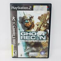Tom Clancy's Ghost Recon Advanced Warfighter PS2 Game Sony PlayStation 2
