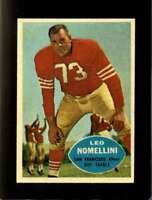 1960 TOPPS #121 LEO NOMELLINI EXMT 49ERS HOF  *XR21361