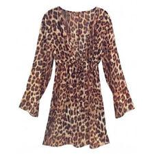 Damen-Bademode mit M-Leopard Normalgröße