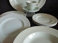 Woods Beryl ware plates, cup & saucer, Platter, Soup bowl - joblot add to a set