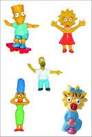 Oficial BULLYLAND COMANSI Los Simpson Figuras Juguete Topper para tarta Toppers