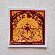 """Bells Beach Surfing Surfer Stickers Decals 4""""x 4"""" Epic Surf Breaks Australia"""