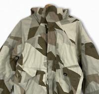 VANS Men's Snowboarding Jacket Insulated Full Zip Ski Jacket Camo Medium
