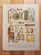 Armour & Accessories - 1882 - Fashion & Costume History, Original Print, art