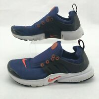 Nike Air Presto Running Shoes Sneakers Mesh 833875-500 Dark Purple Youth 4Y