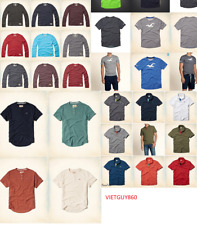 NWT Hollister by Abercrombie A&F men long sleeve and short sleeve , polo shirts