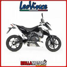 8258 MARMITTA LEOVINCE KTM 690 DUKE LC4 2008-2011 UNDERBODY INOX/CARBONIO