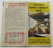 Chicago Rapid Transit Map 1946