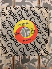 THE BEATLES / Lady Madonna - The Inner Light / Capitol 2138 - 45rpm Vinyl Record