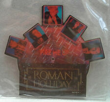 """ROMAN HOLLIDAY - Fire Me Up  7"""" Vinyl *SHAPED PICTURE DISC* *MINT*"""