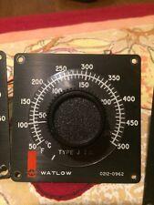 Watlow Type J T.c. 0212-0962 0-500f 0-250c