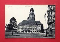 AK DRESDEN um 1910 seltene Perspektive vom Neuen Rathaus   ( 40115