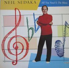 NEIL SEDAKA - ALL YOU NEED IS THE MUSIC  - LP