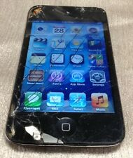 Cracked Glass Apple iPod Touch 4th Generation MC540LL 8GB A1367 Free Ship!