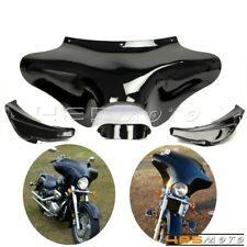 Motorcycle Fiberglass Front Outer Batwing Fairing For Harley FLSTF Fat Boy 90-12