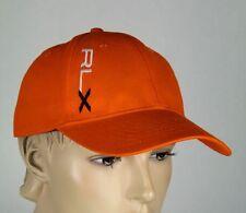 Ralph Lauren RLX Sport Orange Baseball Ball Cap Hat S/M NWT