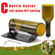 Glass Bottle Cutter Machine Cutting Tool For Jar Winebottle Recycle DIY Craft !