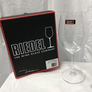Riedel Wine Series Cabernet/Merlot Wine Glass, Set of 2, Crystal Glass Nib
