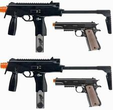 2 X Umarex Combat Zone Action Kits MP9 AEG & 1911 Pistol Airsoft New