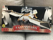 1995 Bandai 2492 Mighty Morphin Power Rangers White Ranger's Falconzord CIB