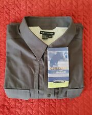 NWT 5.11 Tactical Series Shirt Mens Size 2XL Short Sleeve Charcoal.