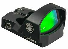Sig Sauer SOR11600 Romeo1 Illuminated MOA 6 Red Dot 1x30 Reflex Sight