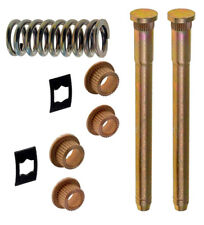 Pair Door Hinge Pin & Bushing Kits with Spring Fits GM C/K Trucks 88-00