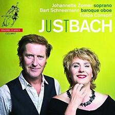 Johannette Zomer Bar Schneemann Tulipa Consort - Bach: Just Bach (NEW CD)