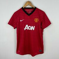 Manchester United Football Soccer Jersey Womens Medium Nike Short Sleeve