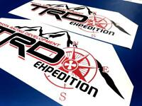 Huge TRD Expedition Side Vinyl Stickers Decal fit to Tacoma Tundra FJ Cruiser