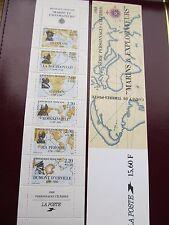 1988 carnet marins et explorateurs NEUF LES 6 TIMBRES
