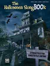 """""""THE HALLOWEEN SONGBOOK"""" PIANO/VOCAL/GUITAR & PIANO SOLOS MUSIC BOOK BRAND NEW!!"""