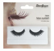 Stargazer False Feather Eyelashes #52 Black Jagged Edge