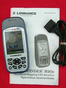 Lowrance iFINDER H2OC Handheld GPS Color Screen Great For Ice Fishing Too