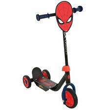 MV Spiderman Bambini Ragazzi Casco MARVEL a tema Skate Scooter Bicicletta Rosso