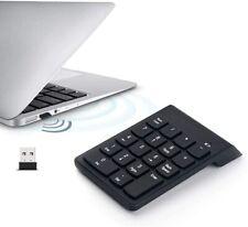 USB Wireless 18 Keys Number Pad Numpad Keypad Keyboard for Laptop Tablet A854