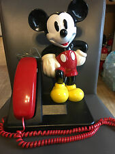 Vintage AT&T Mickey Mouse Telephone, Home Phone, Handset. landline