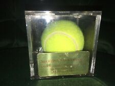 Tribute Tennis Ball MARTINA NAVRATILOVA Virginia Slims Championships 11/15/1994
