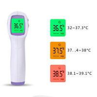 Thermomètre infrarouge numérique sans contact front bébé adulte pistolet LCD