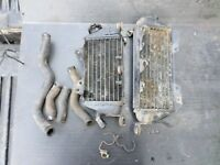 1995 KAWASAKI KLX250 OEM RADIATOR LEFT RIGHT FILL NON  KLX 250 KLX250R 94 95 96