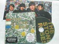 The Stone Roses The Stone Roses Silvertone Records Promo Stickered CD Album