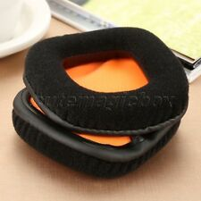 Soft Foam and Velour Earpads For Headphones Plantronics GameCom 780 367 377 777