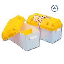 Trem barco la caja de batería y Correa (grande) 200x410x250H Mm-barco/caravana/Autocaravana