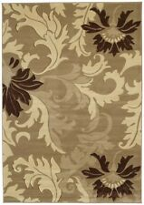 """United Weavers 510-21126 Beige Damask Leaves 3x7 Area Rug - Approx 2' 7"""" x 7' 4"""""""